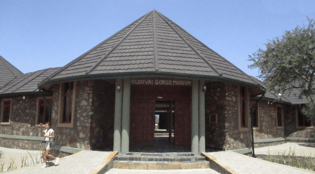 Olduvai Gorge museum of modern african art