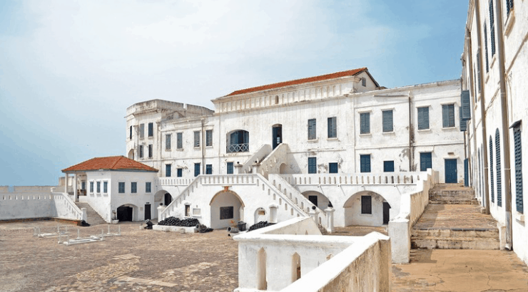 Cape Coast Castle museum of modern african art