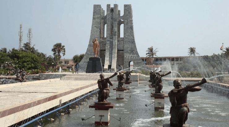 Kwame Nkrumah Memorial Park museum of modern african art