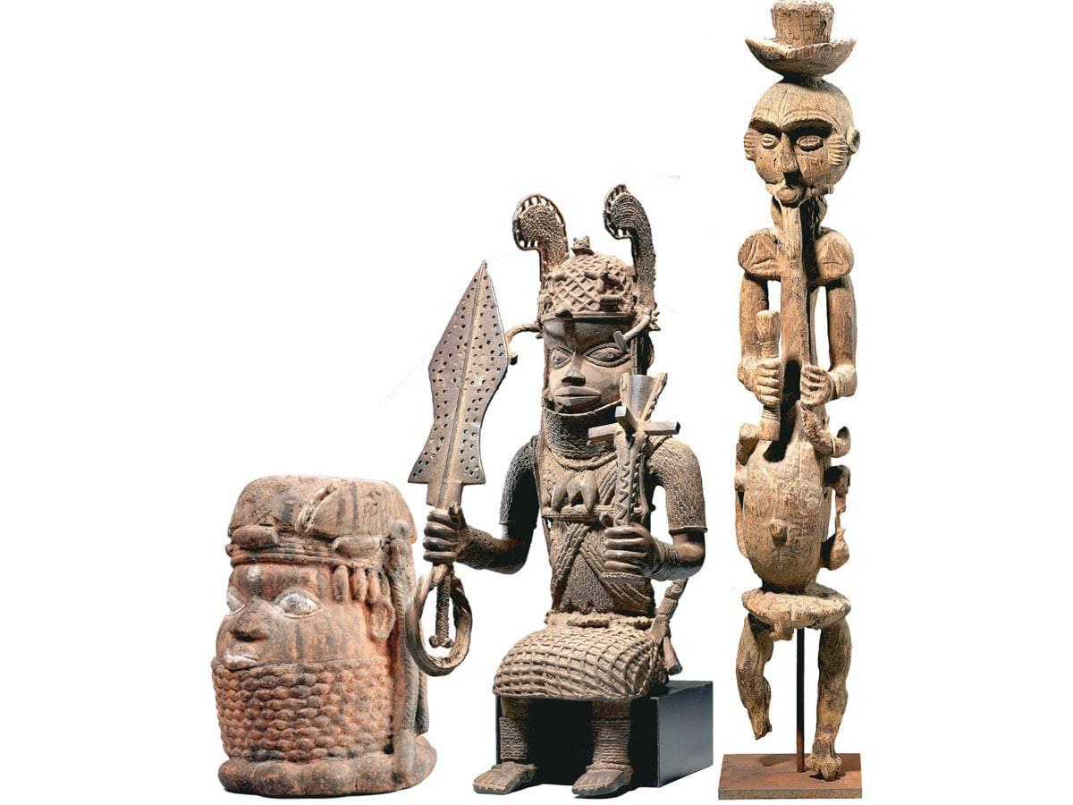 art masterpeices in Oron Museum