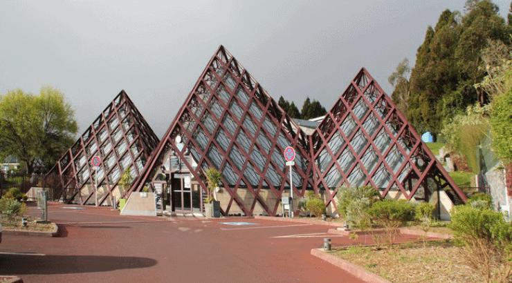 La Cite du Volcan museum of modern african art