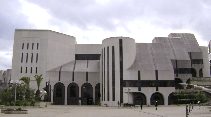 Musem de l'Armee Algiers museum of modern african art