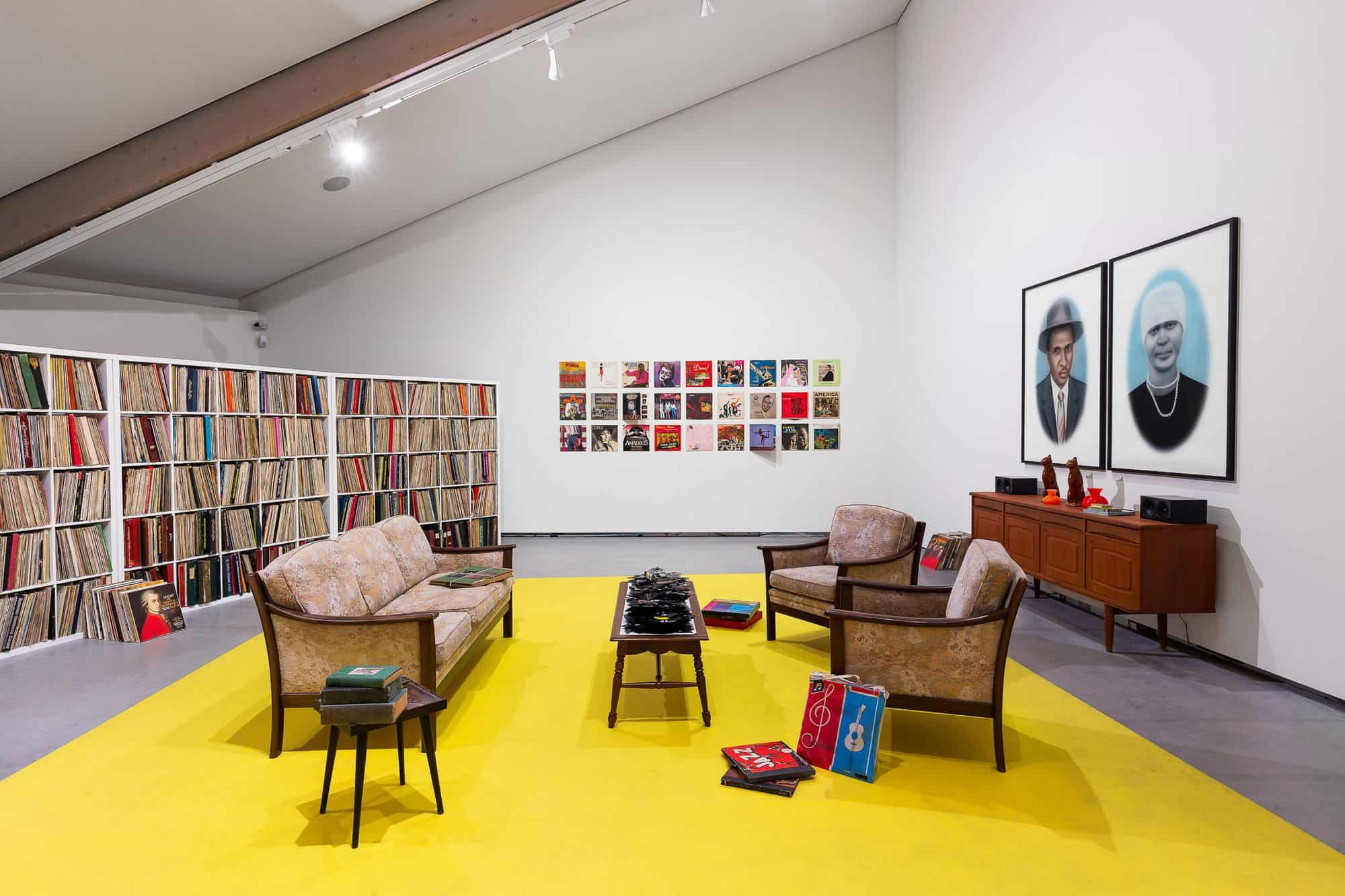 "KAY HASSAN, ""My Father's music room,"" 2007-2019. 