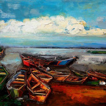 Cliff Kibuuka - Ggaba boats (2019)