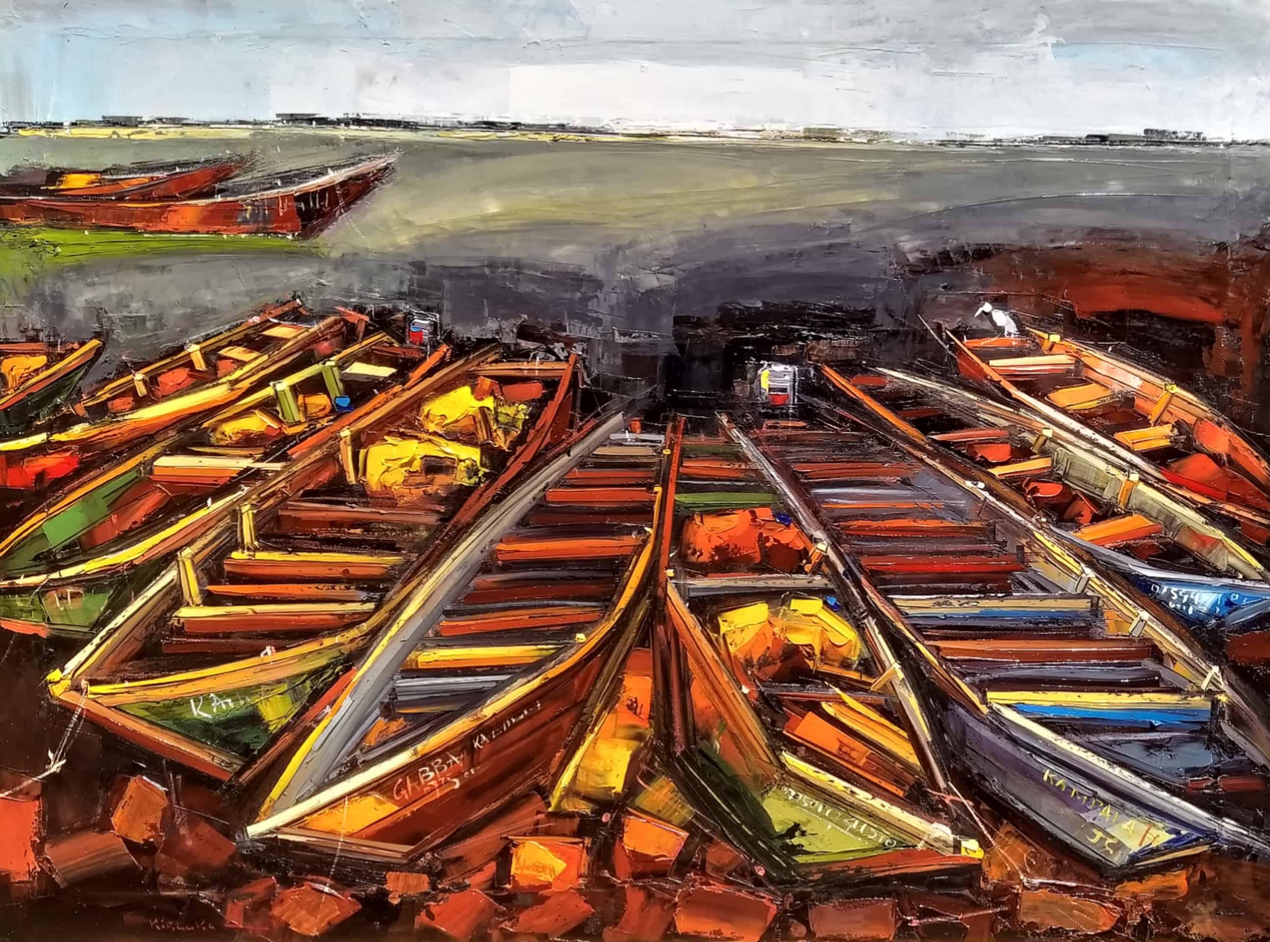 Cliff Kibuuka - Ggaba boat series MoMAA