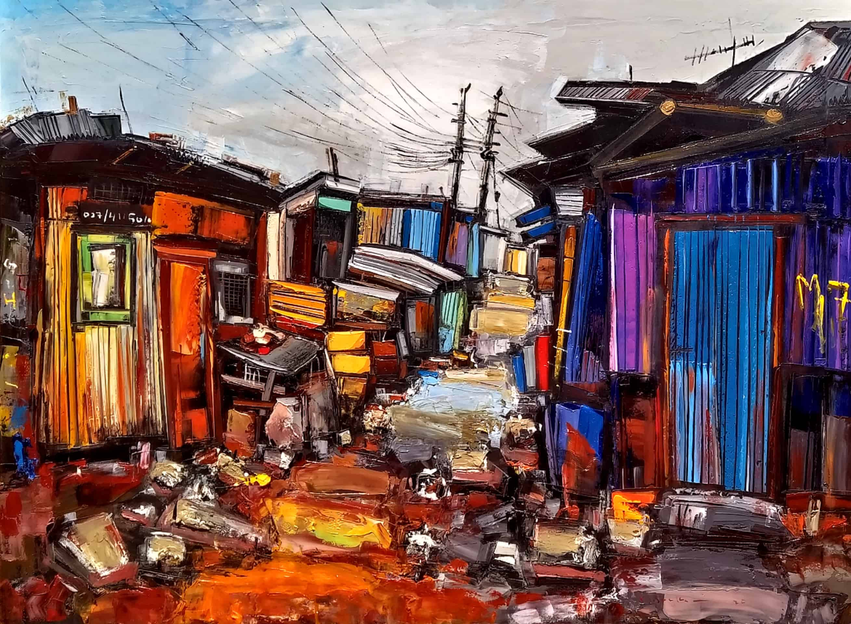 Cliff Kibuuka - Home sweet home - series (2019) MoMAA