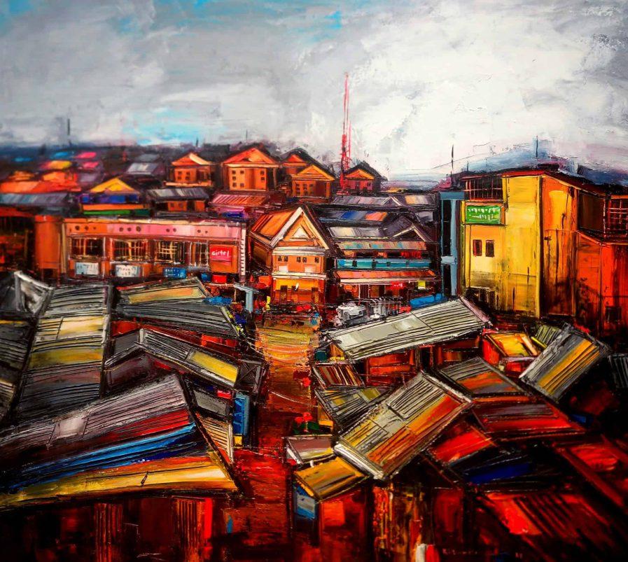 Cliff Kibuuka - Neighborhood series MoMAA
