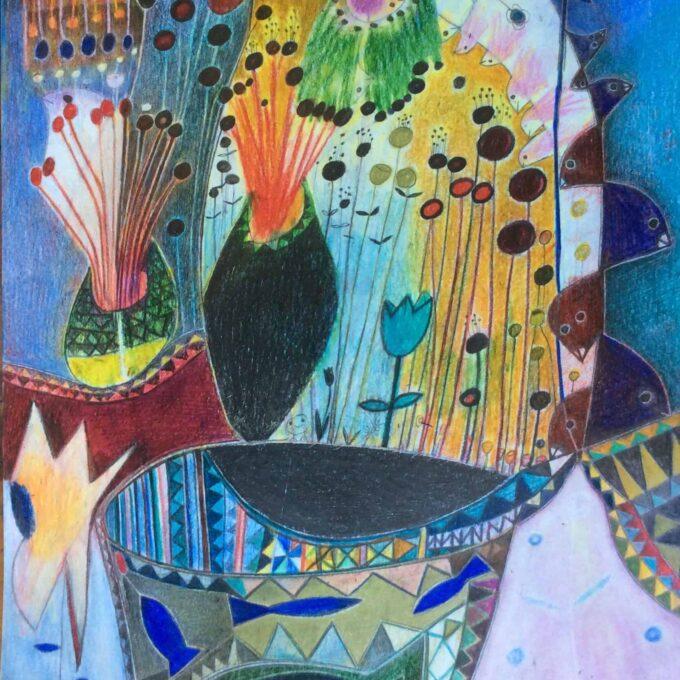 Kaaml Untitle 1 Momaa african modern painting