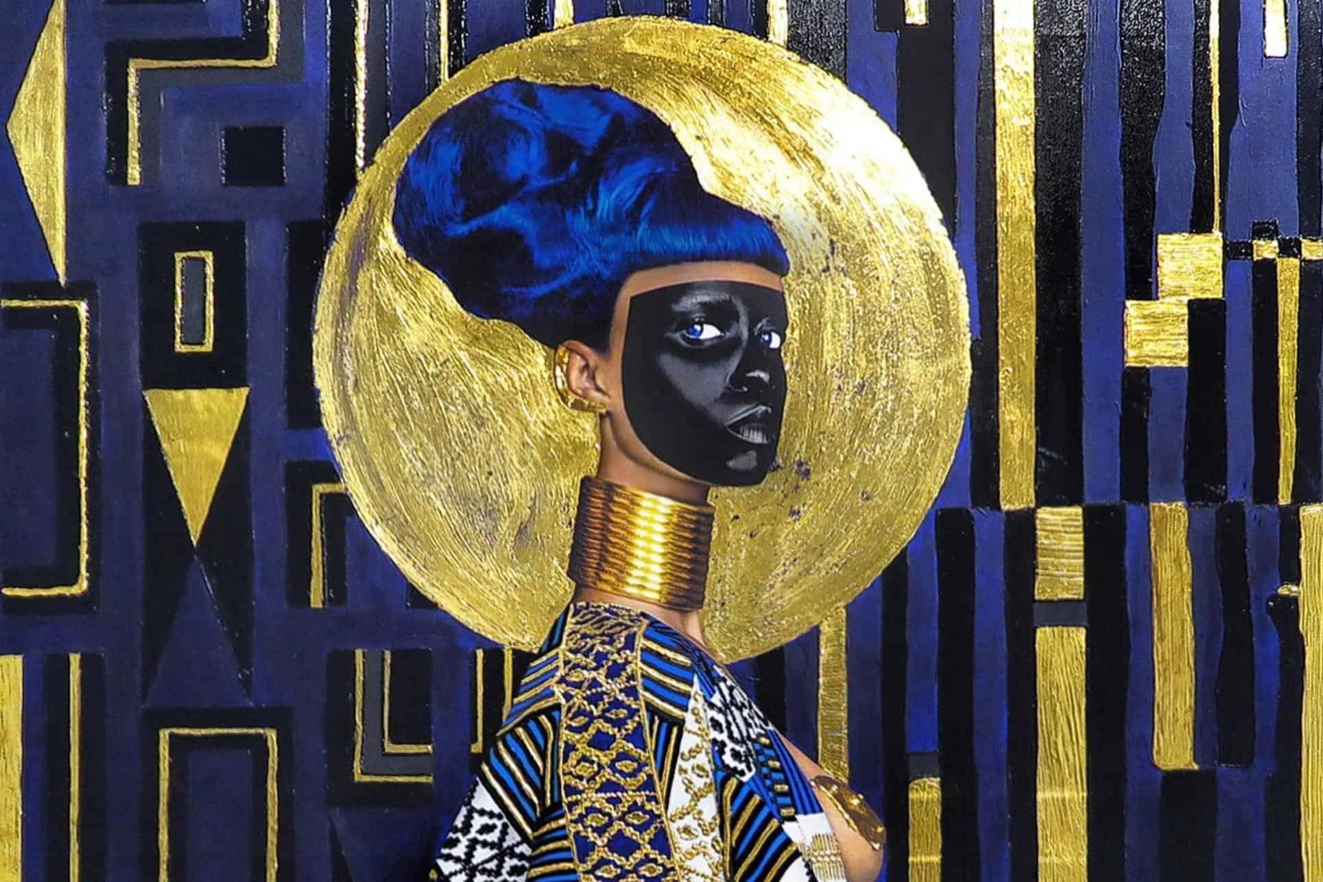 Lina Iris Viktor - Syzygy (2015) african modern painting MoMAA
