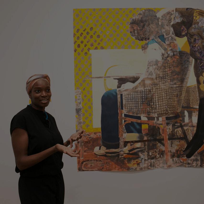 Njideka Akunyili Crosby african female artist momaa