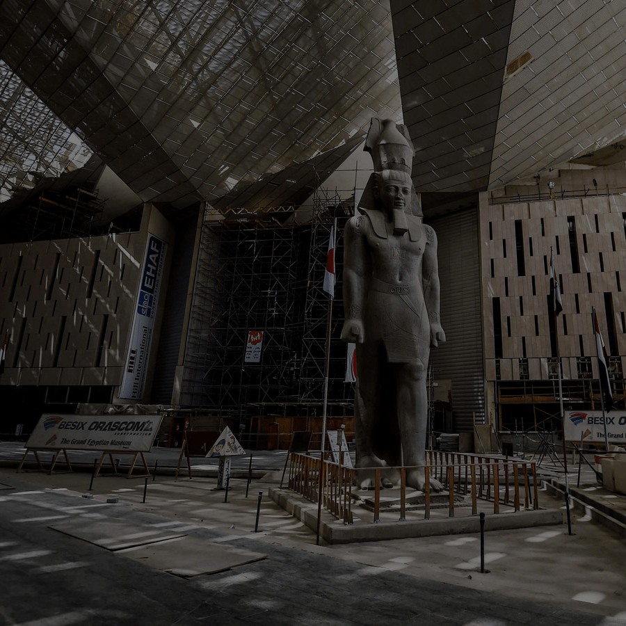 Grand Egyptian Museum Giza momaa100 african art