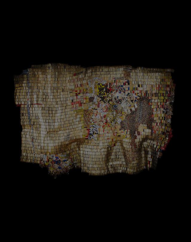 el anatsui new world map african modern art momaa