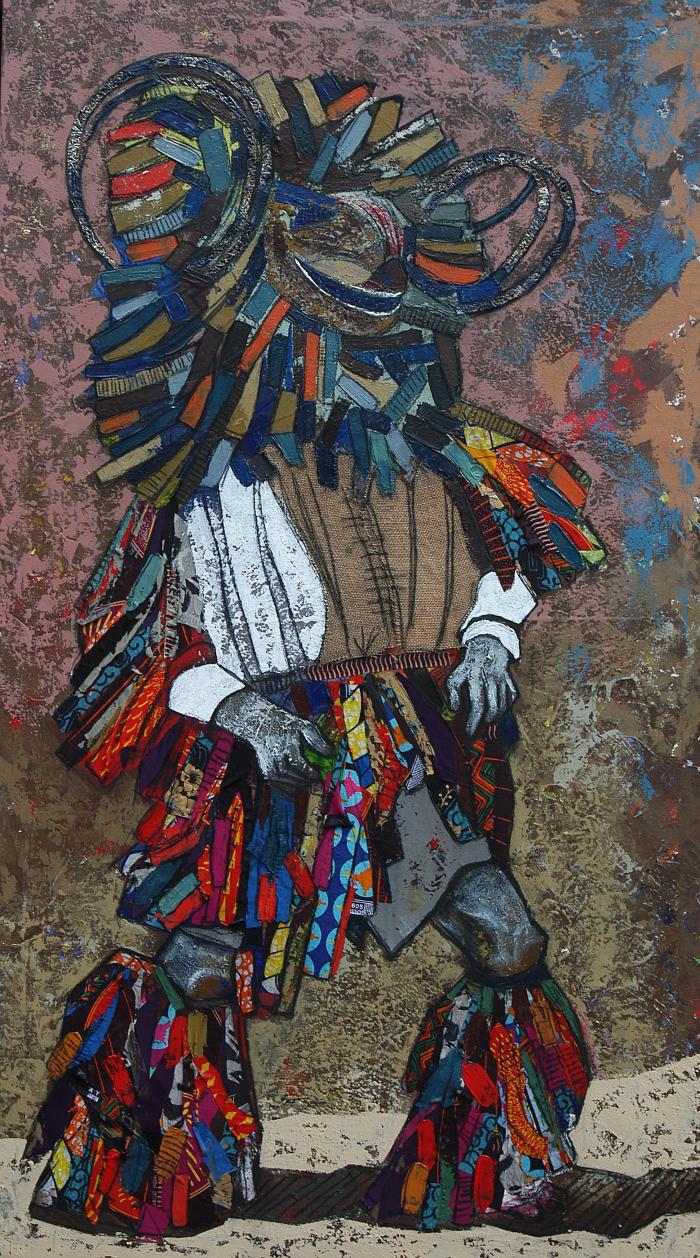 Chilyapa Lwando - Nyau African Contemporary Artist MoMAA