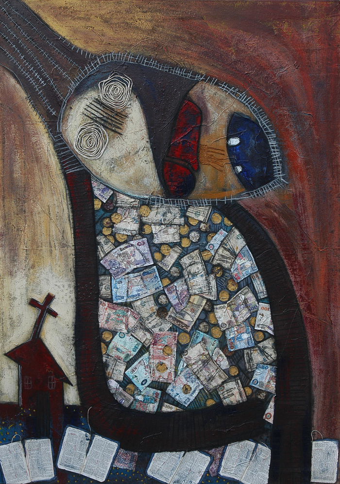 Chilyapa Lwando - Stiff Necked Fool African Contemporary Artist MoMAA