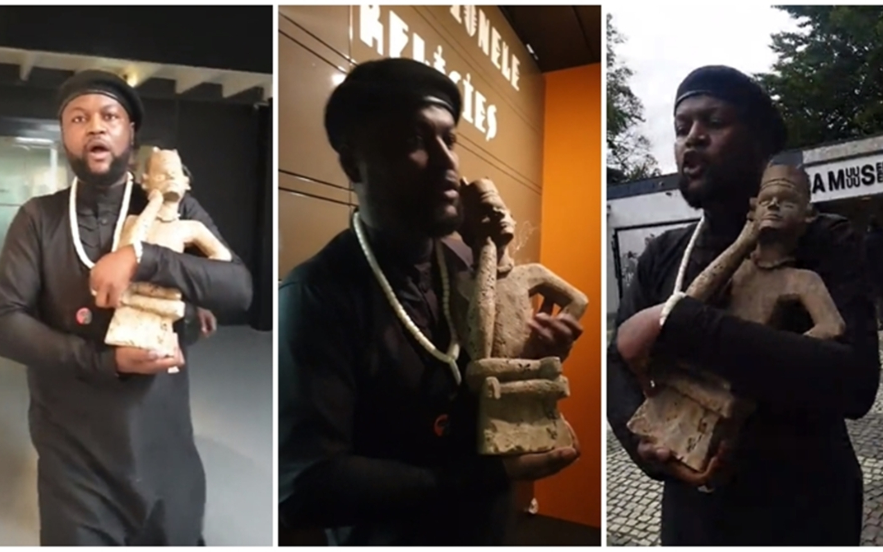 Stolen African Art Activism