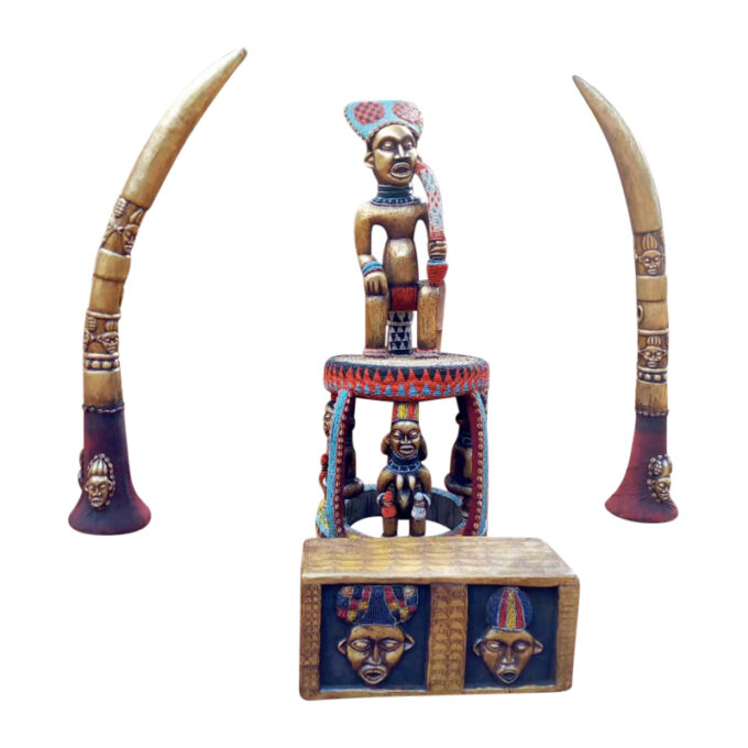 Bawa Royal Chair Cameroon