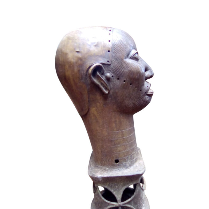 Ife Bronze Head