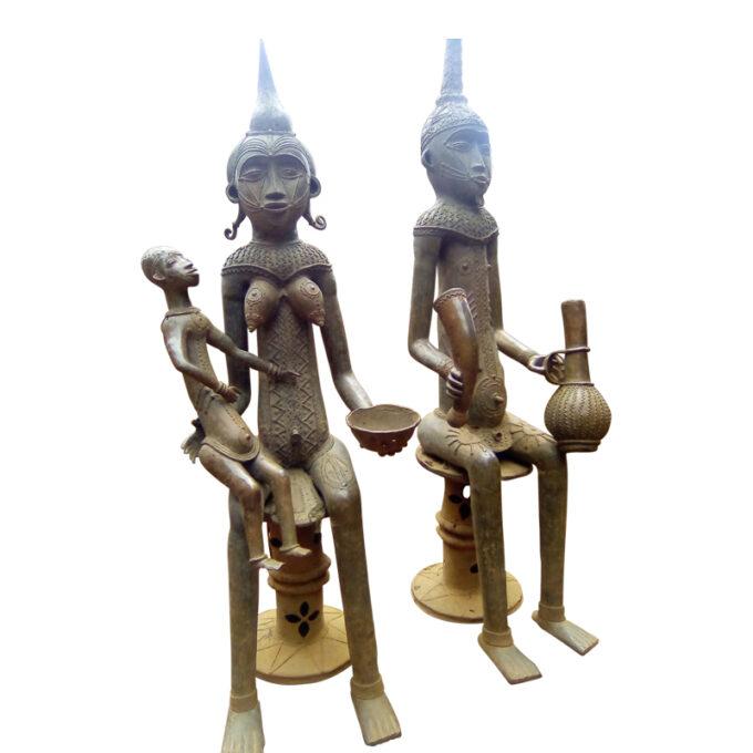 Maternity Yoruba Bronze