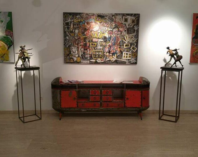 Hamed Ouattara – Luxury TV Furniture (2017)